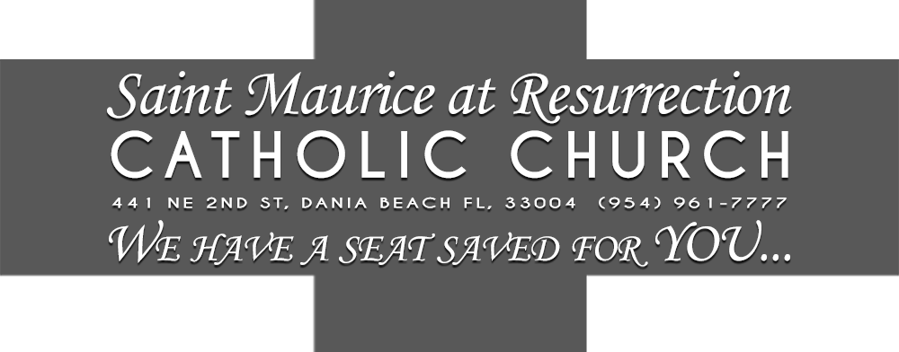 St Maurice of the Resurrection Church Logo